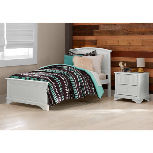 Better Homes and Gardens Kids Sebring Twin Bed, White Finish