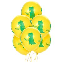 T-Rex Dinosaur Party Supplies 24 Latex Balloons