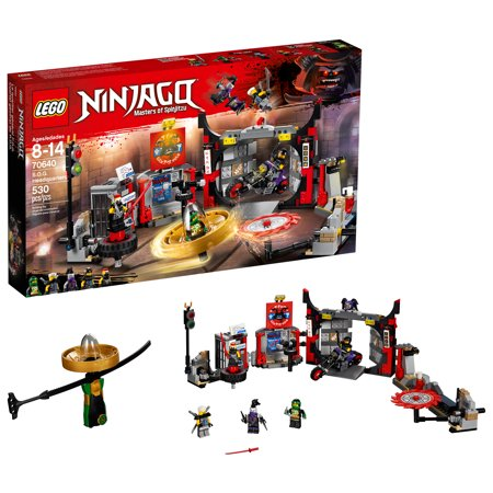 Lego Ninjago S O G  Headquarters 70640