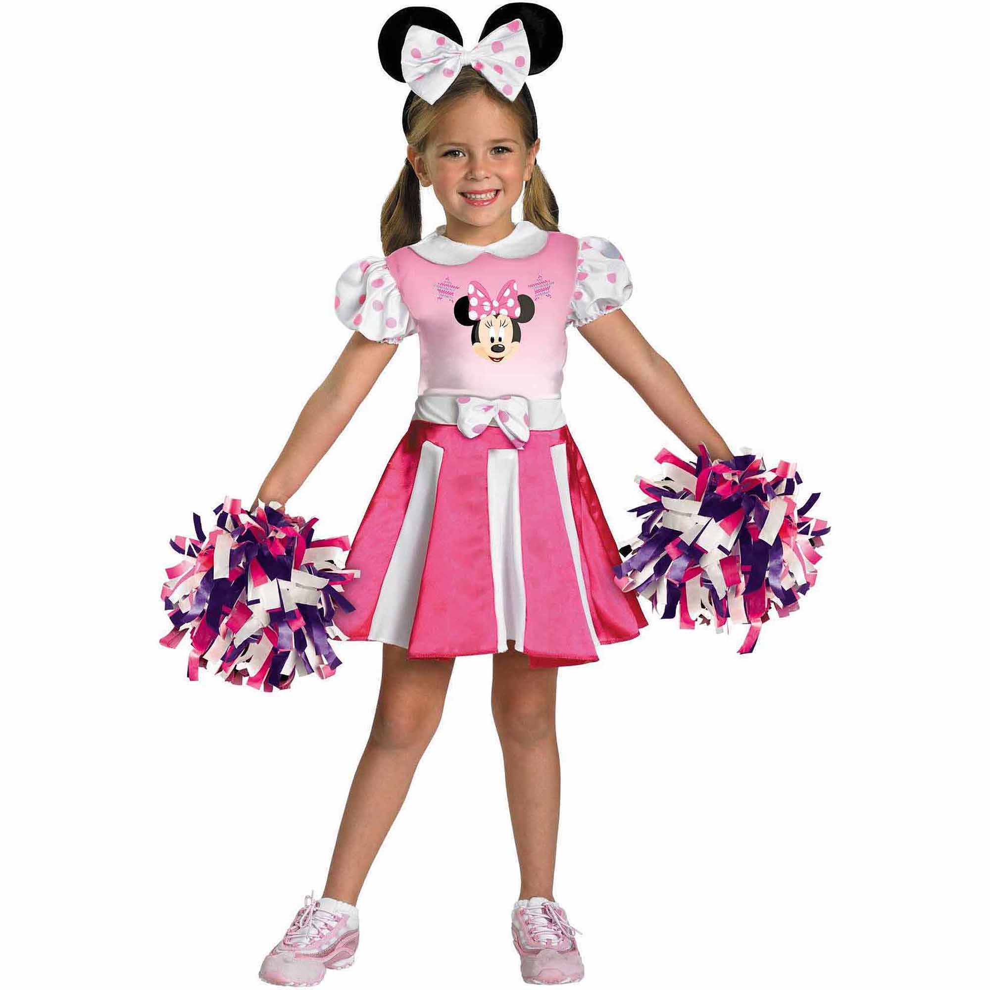 Mickey Mouse Clubhouse Minnie Mouse Cheerleader Toddler Halloween Costume