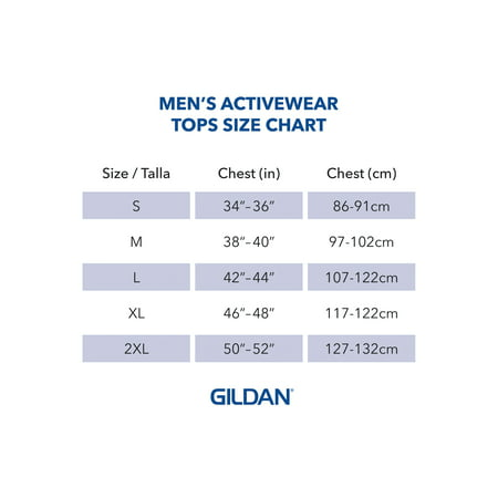 Gildan Men's Ultra Cotton Long Sleeve T-Shirt, 2-Pack, up to size 5xl