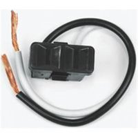 Outlet 2 Prong Blk 2 Wire Lead 61014