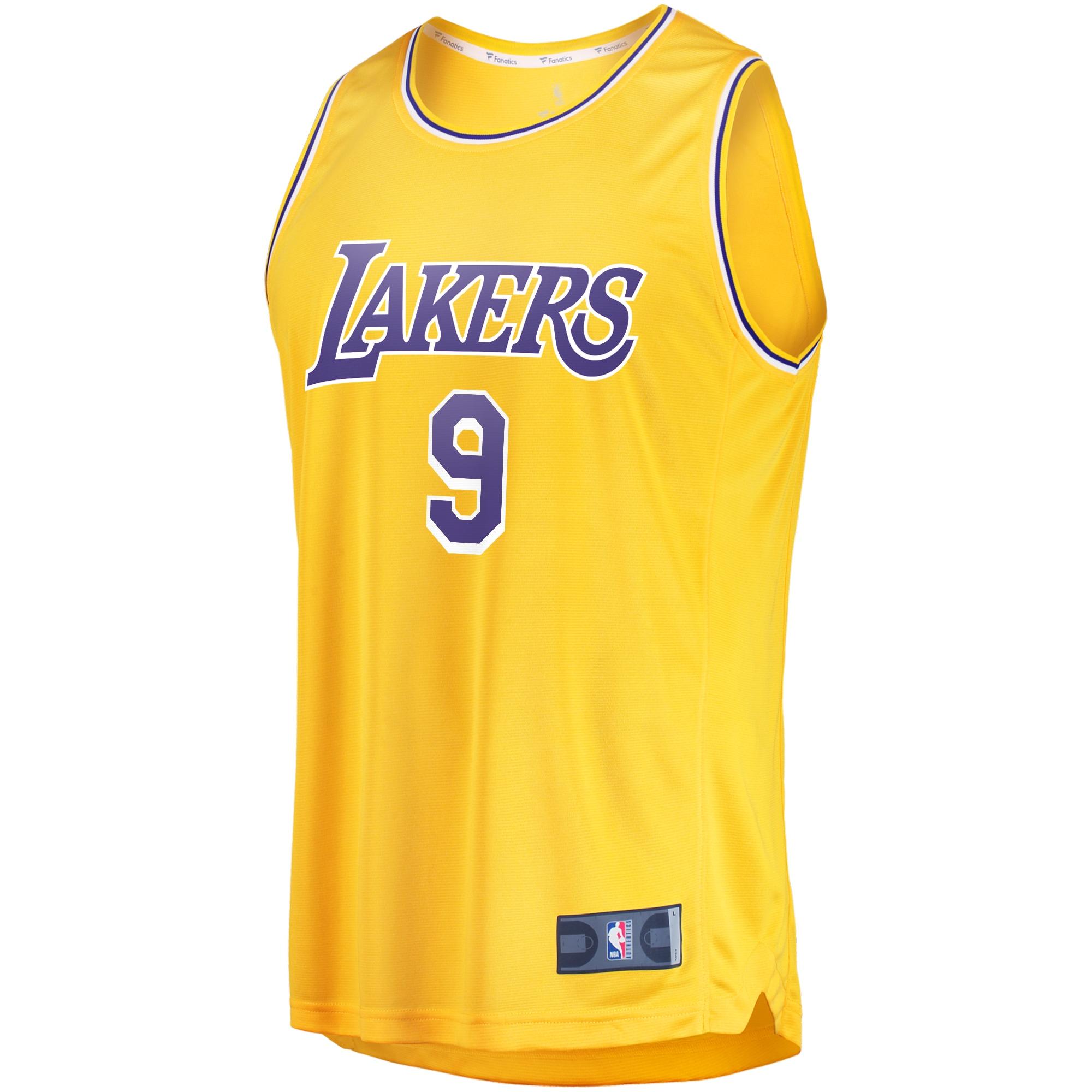 Rajon Rondo Los Angeles Lakers Fanatics Branded Youth Fast Break ...