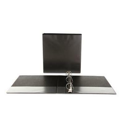 Universal Economy D-Ring Vinyl View Binder, 1-1/2