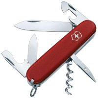 Victorinox Swiss Army Spartan II Folding Camping Knife (Red)