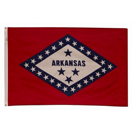 3x5 Arkansas State Flag Made In The USA Arkansas Ar State Flag