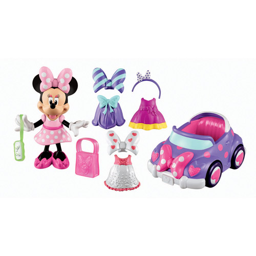 Fisher-Price Minnie Mouse's Convertible Play Set 13 pcs