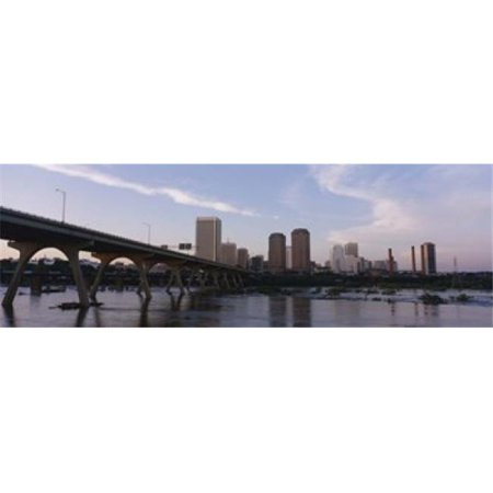 Panoramic Images PPI42660L Low angle view of a bridge over a river  Richmond  Virginia  USA Poster Print by Panoramic Images - 36 x 12 - image 1 of 1