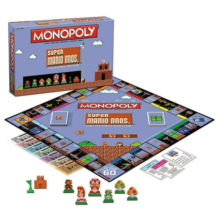 Super Mario Bros Monopoly Collector's Edition Board Game](Game Mario Halloween)