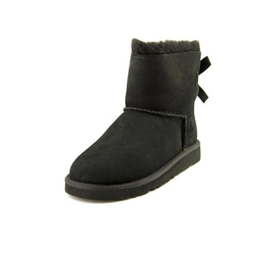 Ugg Australia Girl's Mini Bailey Bow Boot Pre/Grade School Black 5 M