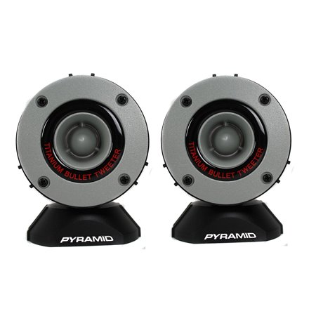 Pyramid 300 Watt Aluminum Bullet Horn In Enclosure With Swivel Housing