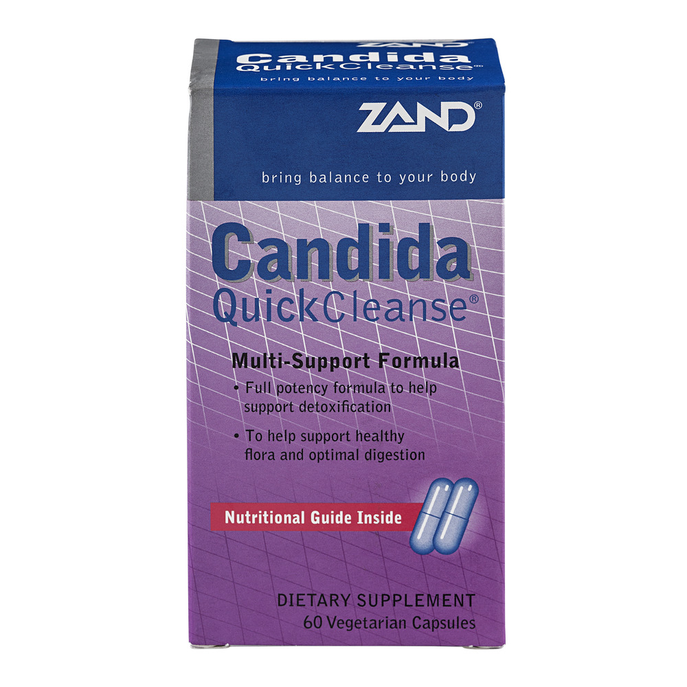 Zand Candida Quick Cleanse Dietary Supplement Multi-Support Formula - 60 CT