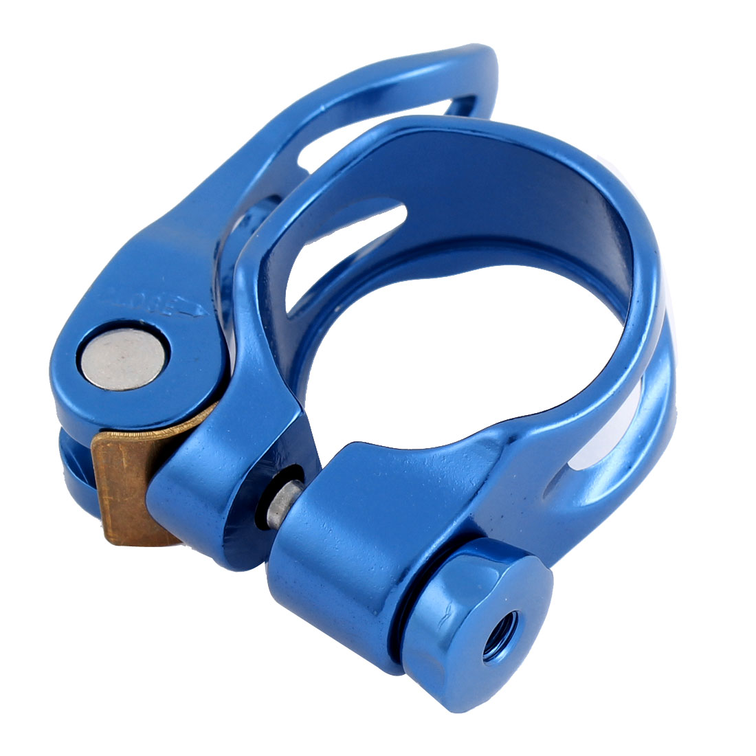 Quick Release Mountain Road Bike Seat Post Clamp 31.8mm Authorized by LF Blue