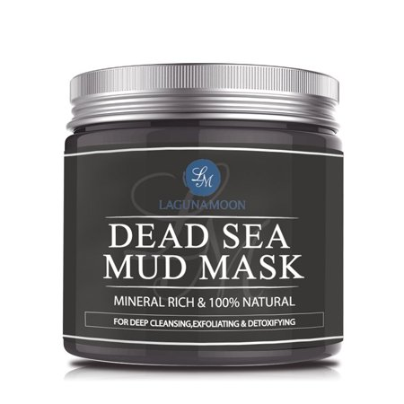 Dead Sea Mud Mask Pure Natural Facial Mineral Mask for Face & Body Deep Pore Cleansing Treatment