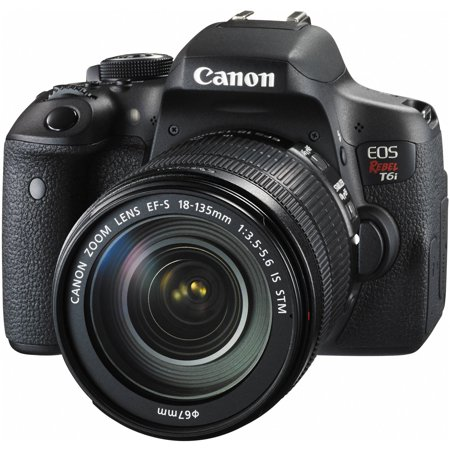 Canon Eos Rebel T6i Dslr Camera With 18 135Mm Lens