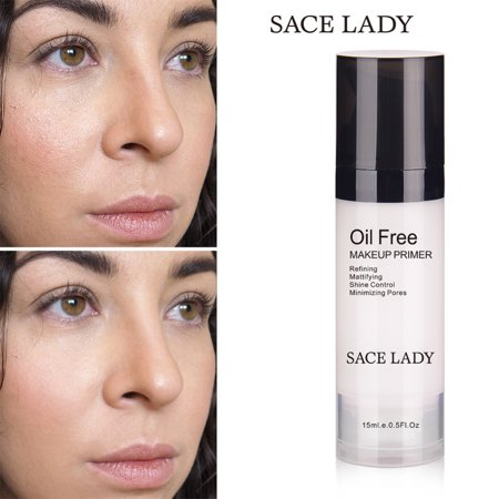 Oil Free Foundation Primer (Face Makeup Primer Oil Free Professional Base Matte Foundation Primer Pores Moisturizer Cosmetic)