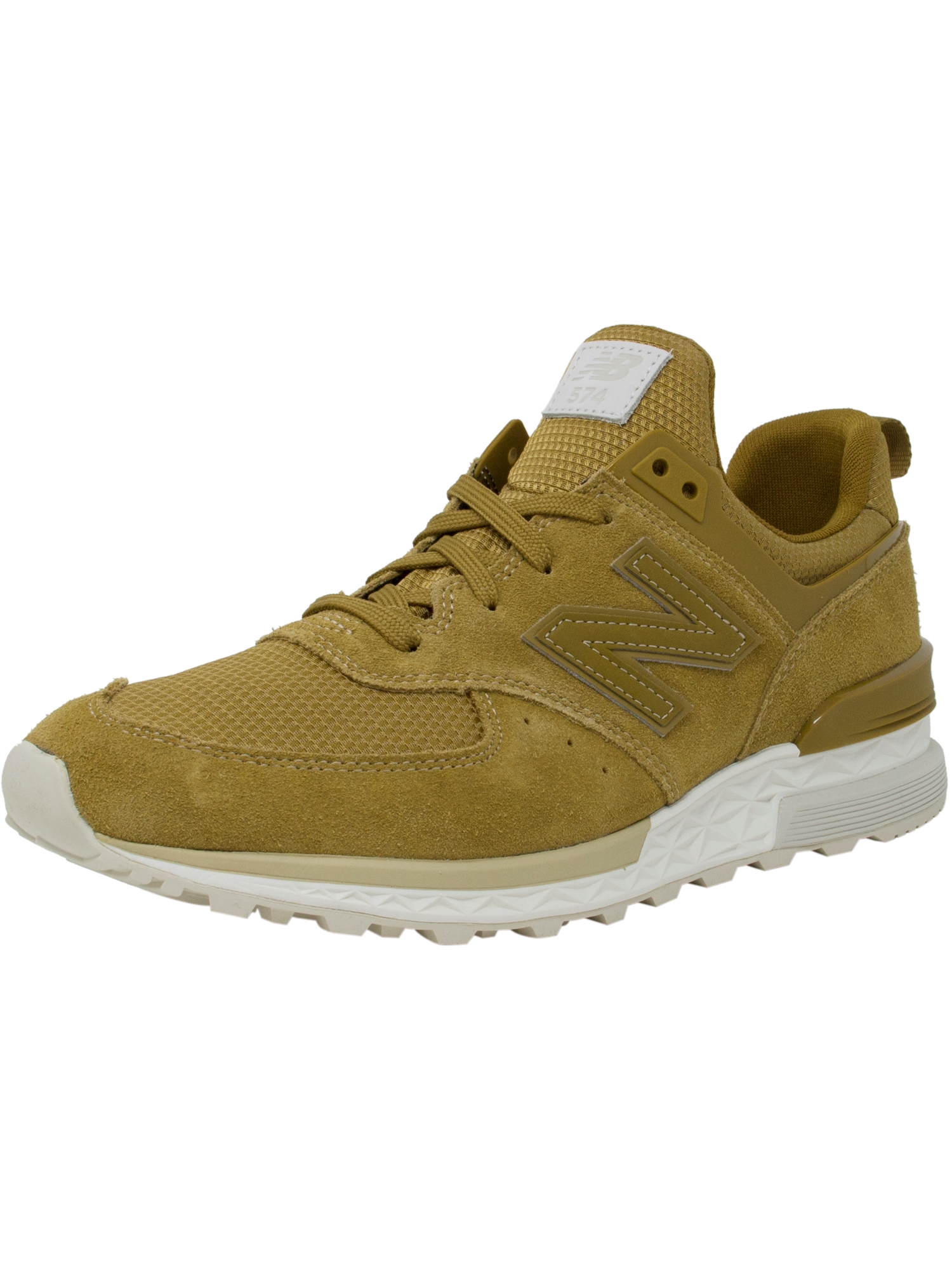 New Balance Men's Ms574 Fsb Ankle-High Suede Fashion Sneaker - 10.5M