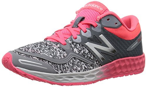 New Balance K1980 Kid, Fresh Foam Zante Big Kid, K1980 Grey/Pink, 6.5 M US Big Kid d00bb2