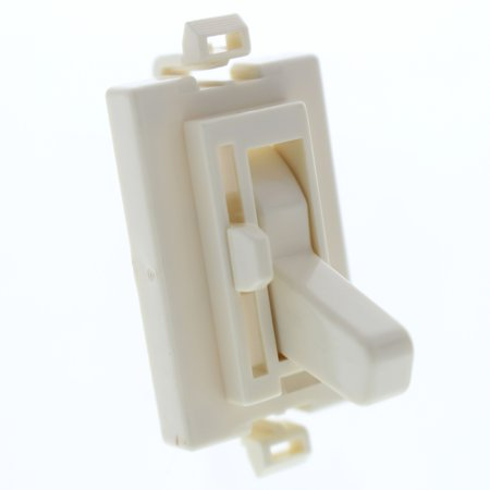 New Cooper Almond Ploycarbonate Color Change Kit for TAL06P Dimmer Switch -