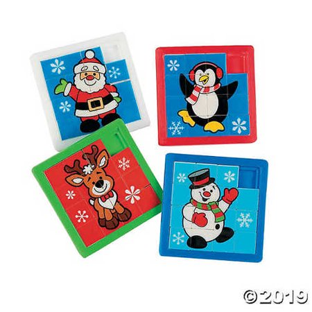 Holiday Slide Puzzles (Slide Puzzles)