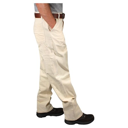 Best Rugged Blue Natural Painters Pants - Natural - 34x30 deal
