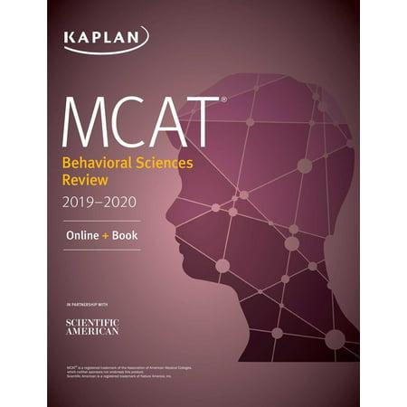 MCAT Behavioral Sciences Review 2019-2020 - eBook
