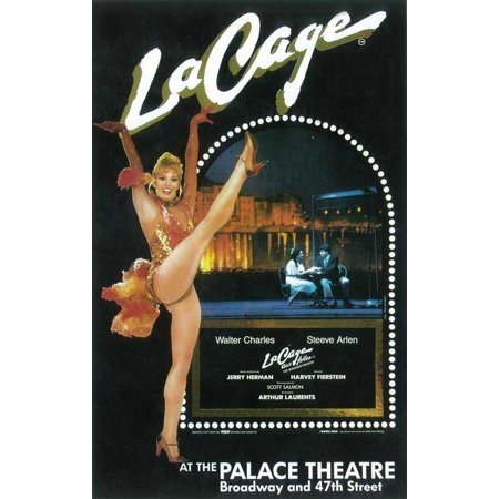 La Cage Aux Folles (Broadway) - movie POSTER (Style A) (14