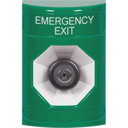 Emergency Exit Push Button,Green,SPST SAFETY TECHNOLOGY INTERNATIONAL SS2103EX-EN