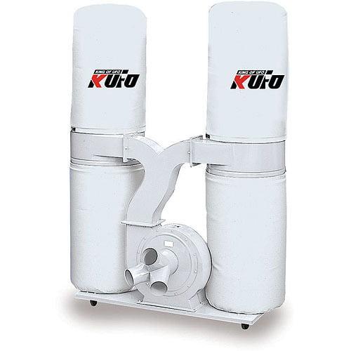Kufo Seco 3 HP 2750 CFM 1-Phase 220V Vertical Bag Dust Collector
