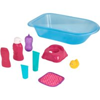 My Sweet Love Bath Time & Potty Play Set, Ages 3+, 8 Pieces