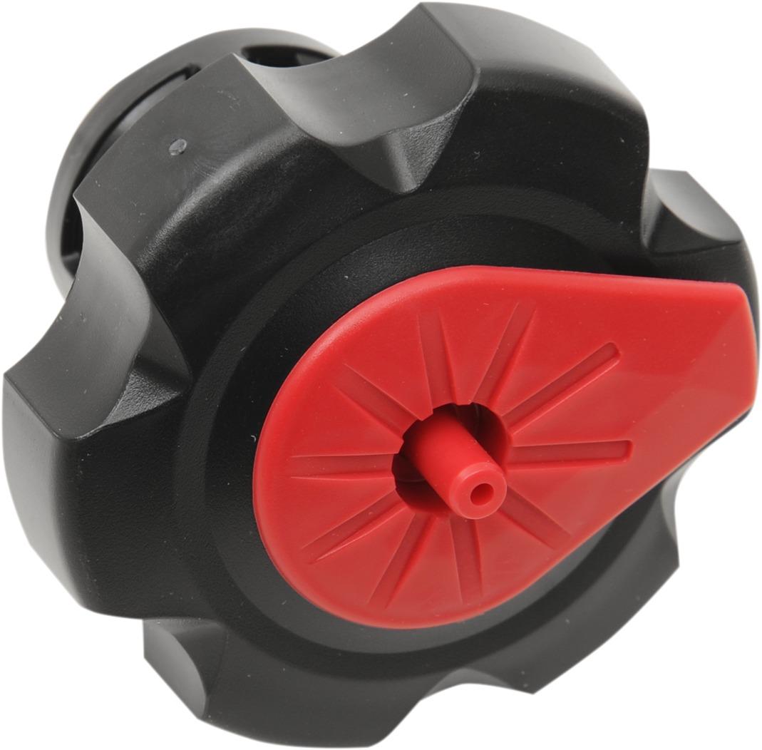 Tuff Jug Quick Fill Fuel Cap, Black with Red Fuel Cap