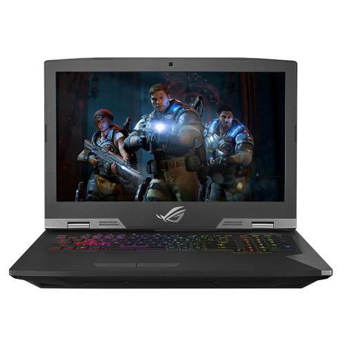 "ASUS ROG Gaming Laptop 17.3"", Intel Core i9-8950HK, NVIDIA GeForce GTX 1080 8GB, 512GB SSD + 2TB SSHD Storage, 32GB RAM, G703GI-XS98K"