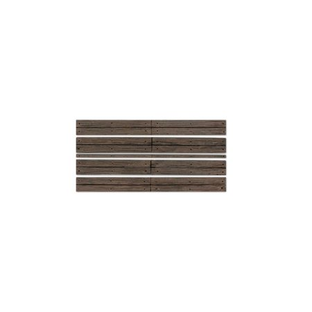 Scale Wood Grade Crossing - C1145 O Grade Crossing Wood Plank, For use with your o scale layout. By Woodland Scenics