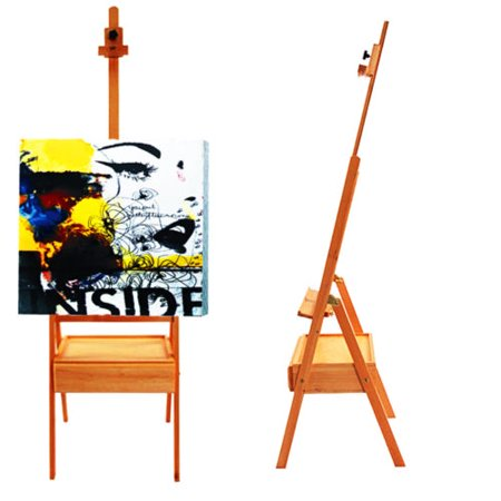 ktaxon portable h frame wooden drawing easel stand floor with paint