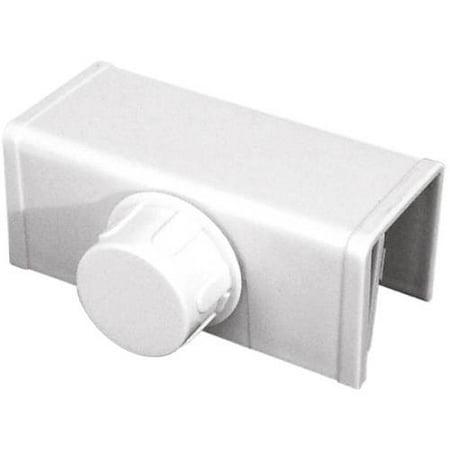 Prime Line S4553 White Bi Folding Closet Door Lock Walmart
