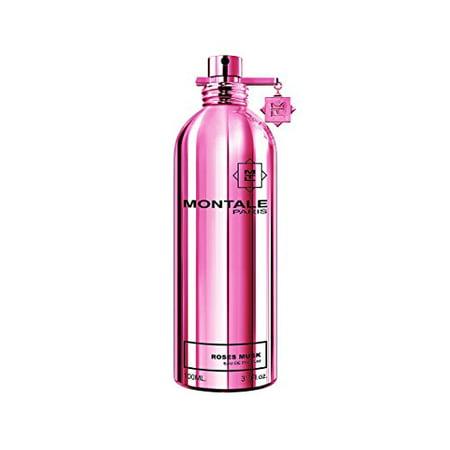 Roses Musk/Montale Edp Spray 3.3 Oz (100 Ml) (7 Ml Edp Splash)