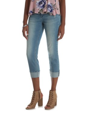 156b016459379 Product Image Lee Riders Women's Modern Cuffed Straight Jean