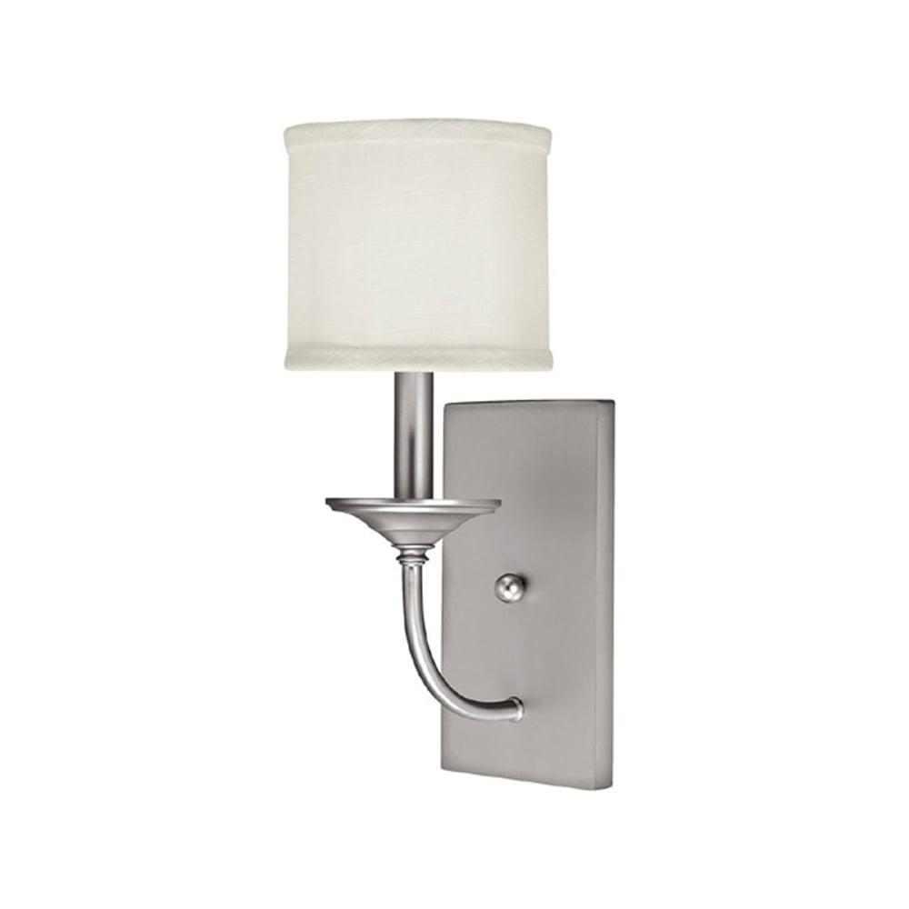 Capital Lighting Loft Matte Nickel 1 Light Sconce