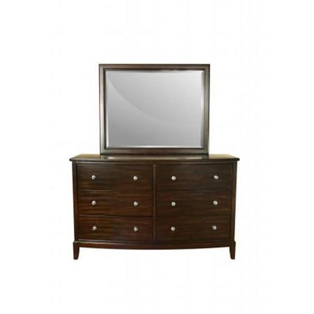 Myco Furniture DE717DR Cherry Denver Dresser ()