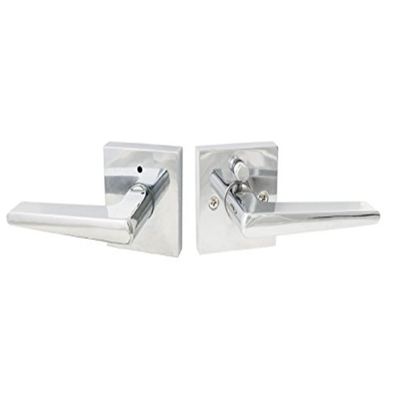 Sure-Loc Hardware BS102 26 RH Basel Privacy Lever, Polished Chrome, Right Hand