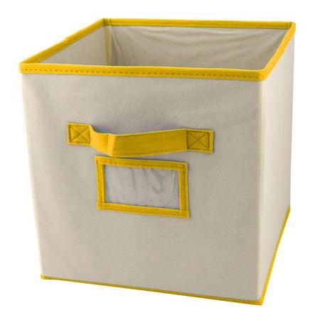 Household Non-woven Fabric Clothes Gloves Holder Storage Box Organizer Yellow](Yellow Boa)