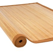 Best Choice Products Bamboo Area Rug Carpet Indoor 5 X 8 100 Natural