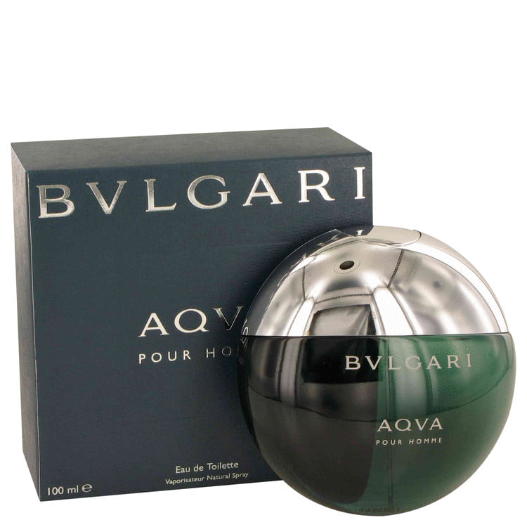 42eef3c4206f6 Bvlgari AQUA POUR HOMME Eau De Toilette Spray for Men 3.3 oz - Walmart.com