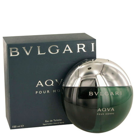 Bvlgari AQUA POUR HOMME Eau De Toilette Spray for Men 3.3 oz Bvlgari 3.4 Oz Eau De Toilette Spray
