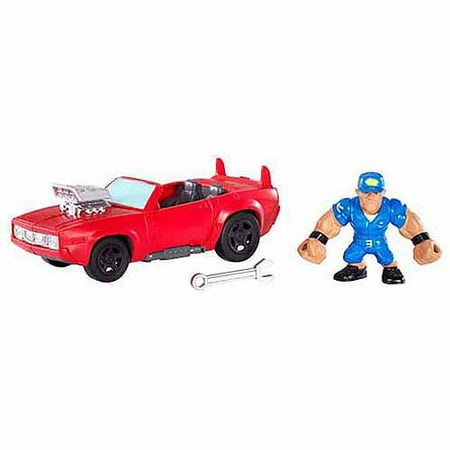 Wwe Slam City John Cena Launch N Crash Car