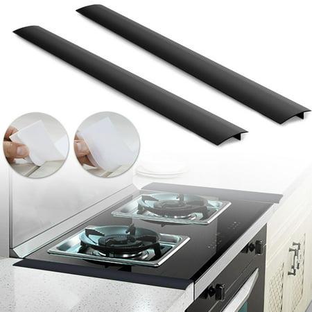 EEEkit Silicone Stove Counter Gap Filler Cover Kitchen Counter Gap Filler,21