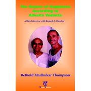 The Nature of Happiness According to Advaita Vedanta - eBook