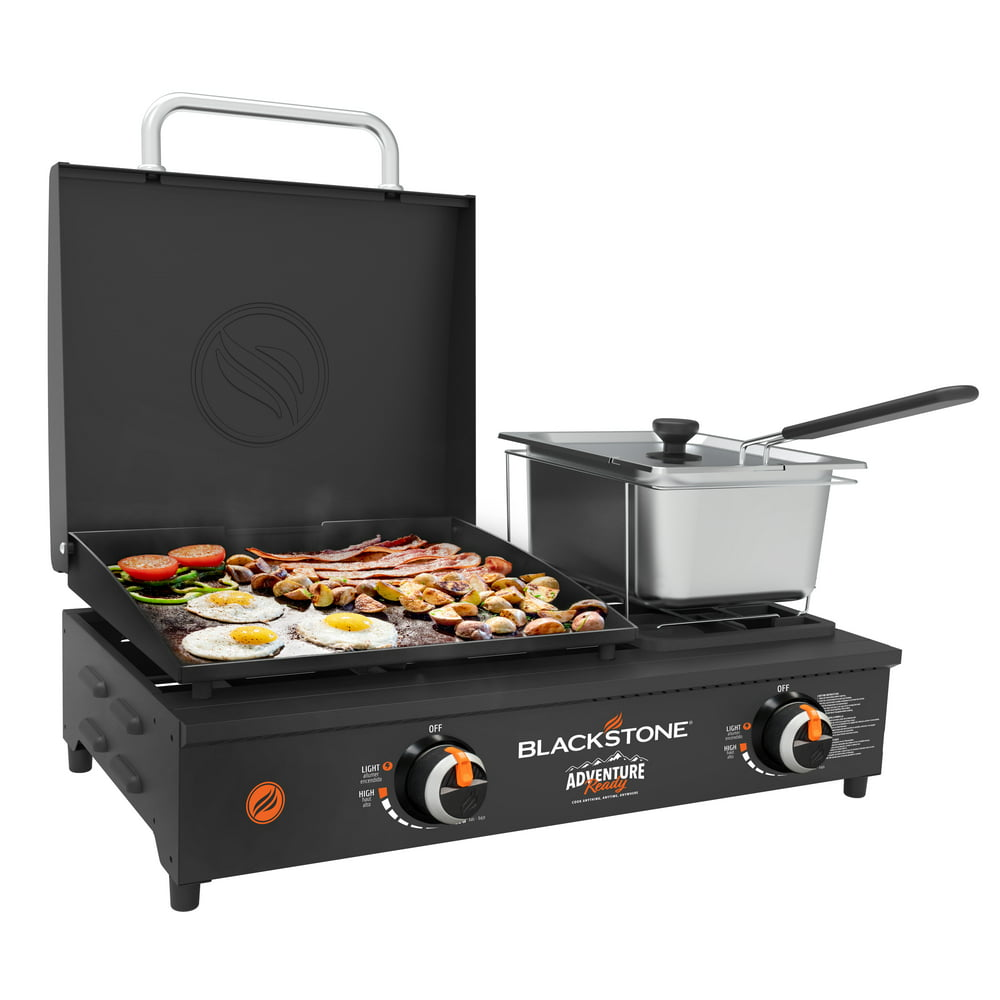 """Blackstone Adventure Ready 17"""" Tabletop Griddle Combo with Fryer"""
