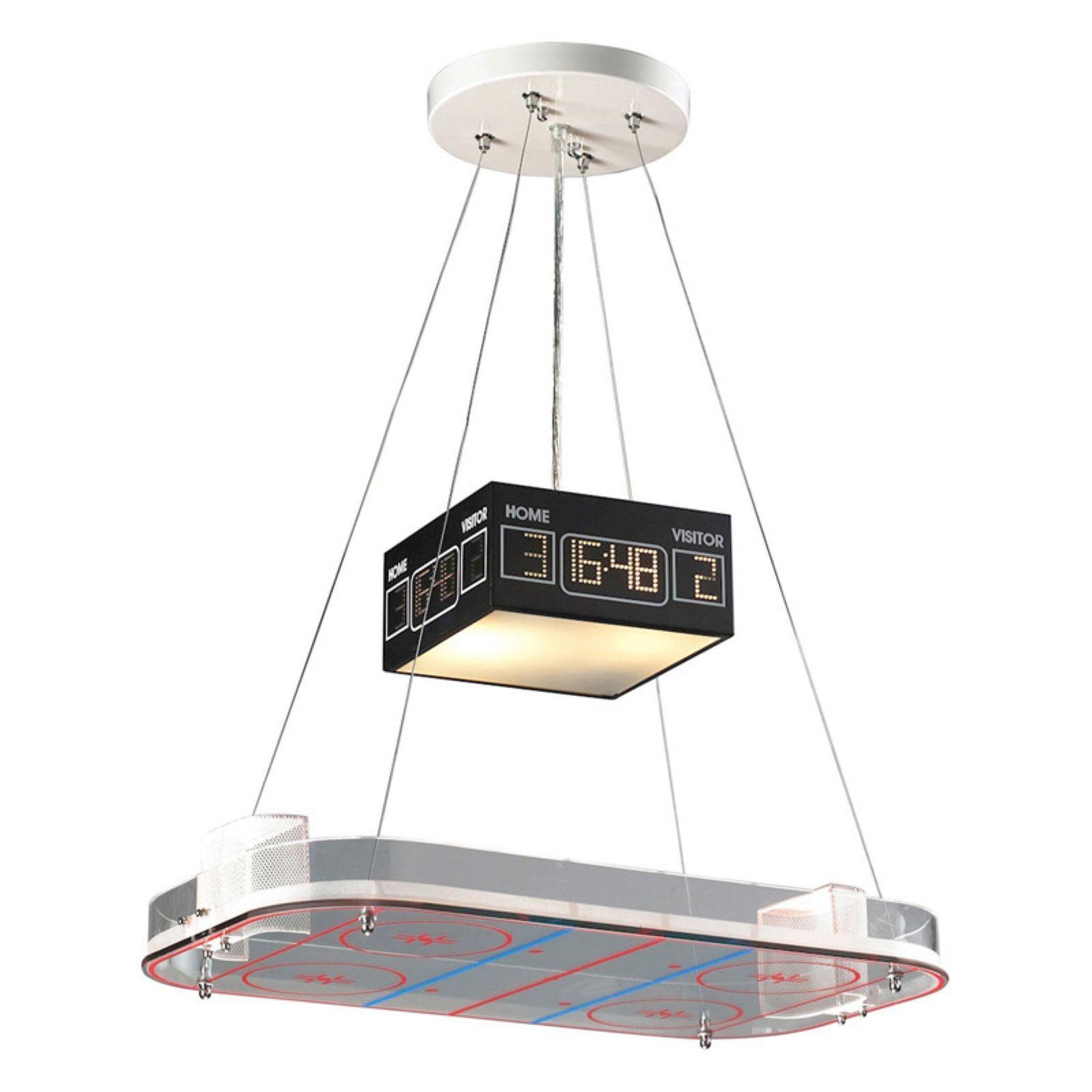 Elk Lighting Novelty 5138 LED 2 Light Hockey Rink Pendant