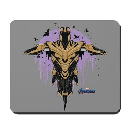 Mouse Silhouette (CafePress - Thanos Silhouette - Non-slip Rubber Mousepad, Gaming Mouse Pad )